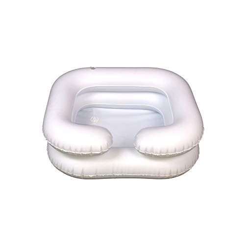Platinum Sight Portable Shampoo Bowl, White