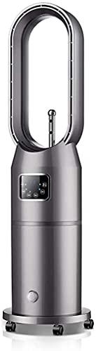 ZUIZUI Ventilador sin aspas con control remoto de suelo Ventilador de torre de seguridad Ventilador sin hojas para dormitorio, hogar, oficina