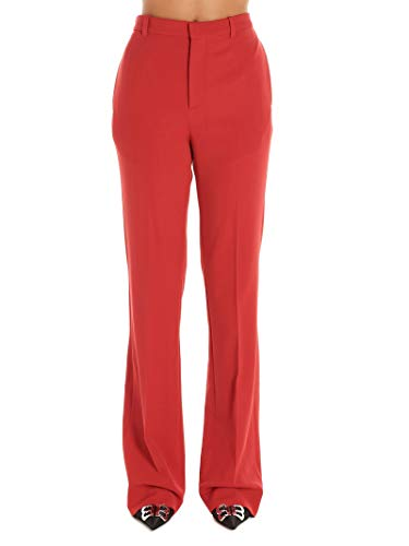 Balenciaga Luxury Fashion Damen 595066TGT036010 Rot Elastan Hose | Herbst Winter 19
