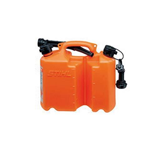 Stihl Kombinierter Kanister für 5 l Kraftstoff und 3 l Kettenöl, Orange