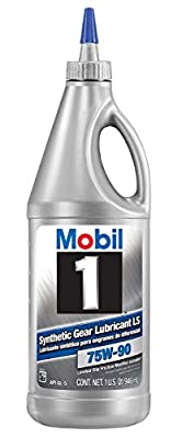 Mobil 1 75W-90 Synthetic Gear Lube - 1 Quart