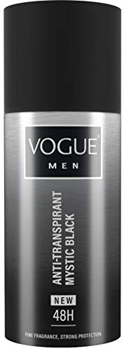 Vogue Men Mystic Black Anti Transpirant, 150 Ml