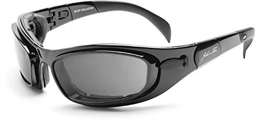 John Doe Hollister - Motorrad-Sonnenbrille für Biker - auf dem Bike oder in der Freizeit bequem zu tragen.