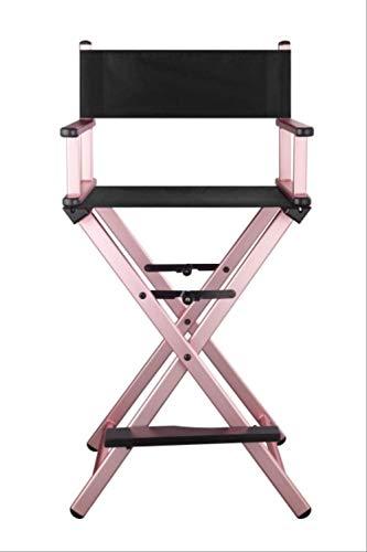 GJJDF Regiestuhl Aluminium Lounge Chair Folding Outdoor Leinwand Strandkorb Bar Büro Make-up Stuhl Stil 3