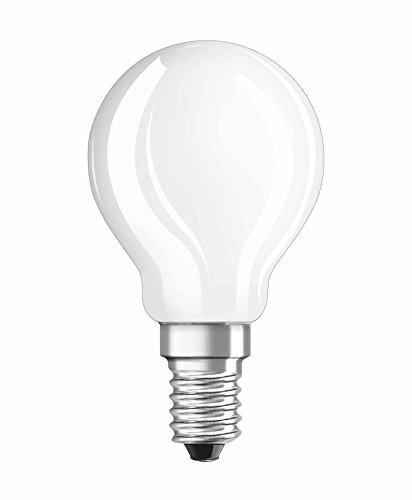Osram LED Star Classic P Lampe, in Tropfenform mit E14-Sockel, nicht dimmbar, Ersetzt 40 Watt, Matt, Warmweiß - 2700 Kelvin, 1er-Pack