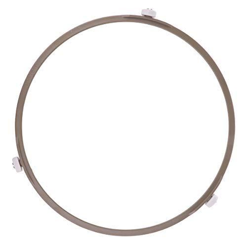 Inhzoy, vassoio girevole universale per forno a microonde, per piastra di vetro, Marrone, 8.5 inch(Large)