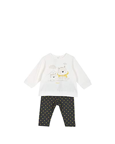 Chicco 09077831000000 Completo Enfant Gris 12m