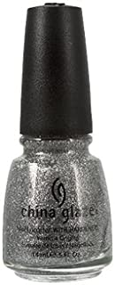 China Glaze Nail Polish, Silver Lining, 0.5 Fluid Ounce