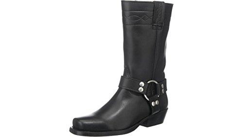 Dockers by Gerli Biker Boots 030140-002001 schwarz, Schuhgröße:EUR 45