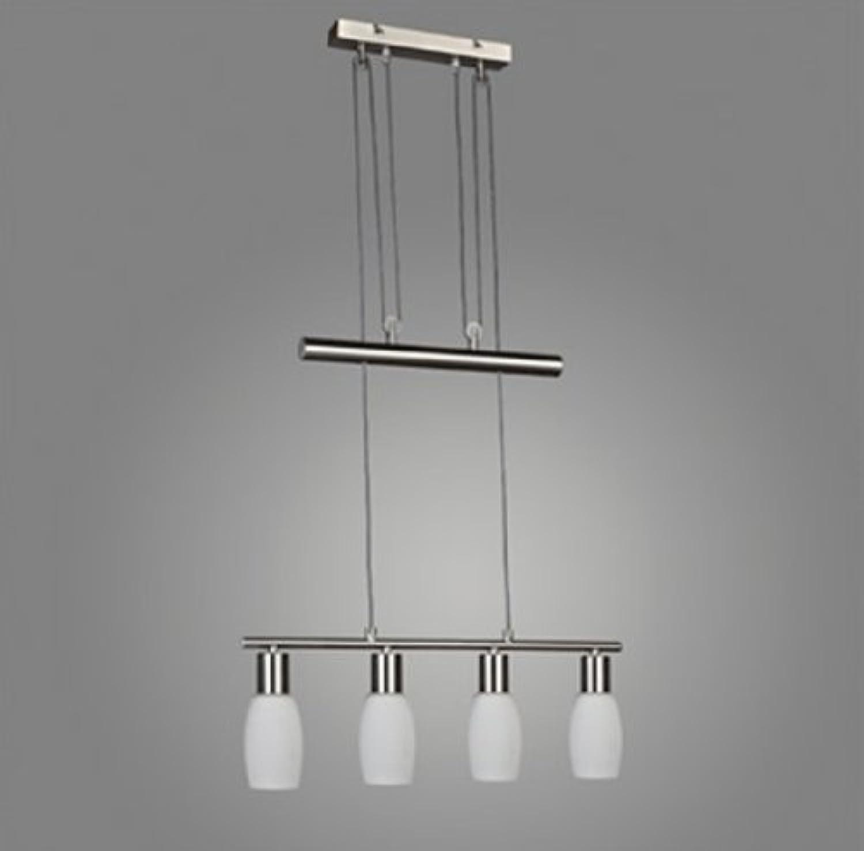 LED Pendelleuchte mit Gegenzug Hngelampe E14-4W-430lm Deckenleuchte Esszimmerleuchte Esstisch-Pendellampe (Merle - 4 flammig)
