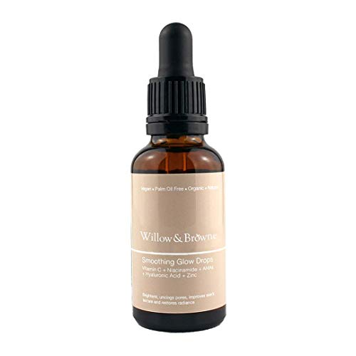 Vitamin C Brightening Serum, Fades Pigmentation, Clears Acne, and Dark Spots For A Smooth, Even Skin Tone. Vitamin C, Hyaluronic Acid, Niacinamide, AHAs, Zinc. Vegan, Natural and Organic.