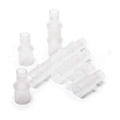 Mundstücke für Alkoholtester | Geeignet für DA-Serie, AF-Serie, Pro-X5+ Modell, AL-Serie, ACE-Serie | SparPack | 50 Stück