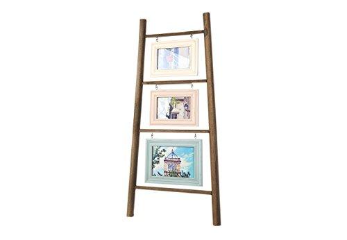 Kobolo Bilderleiter Bildercollage aus Holz Bildformat 10x15 und 13x18