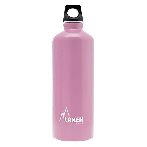 Laken Futura Botella de Agua, Cantimplora de Aluminio Boca Estrecha 0,75L, Rosa