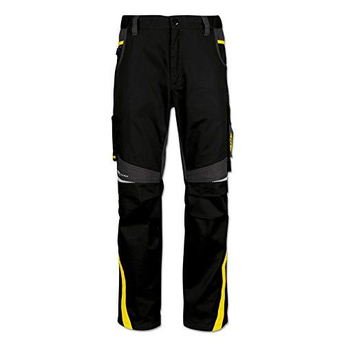 PUMA WORK WEAR BVB-Edition Premium Arbeitshose mit vielen Taschen und extra verstärktem Nylon Gewebe - Gr. 62