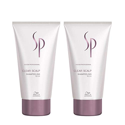 Wella SP Clear Scalp Shampeeling 2 x 150 ml gegen Schuppen System Professional Care