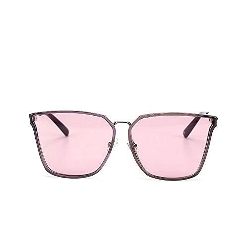 Gafas de sol unisex, de alta definición, polarizadas, cuadradas, con marco de metal, protección Uv400, diseño de personalidad, de moda, ligeras, para deportes al aire libre, Wayfarer
