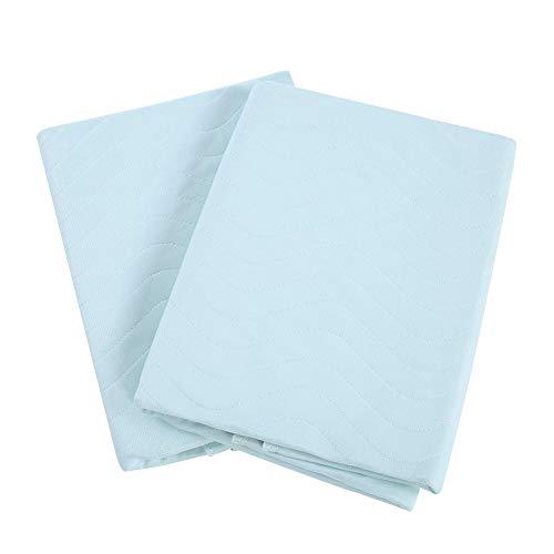 Filfeel Inkontinenzunterlage,2er Pack Saugvlies waschbare Matratzenauflage Atmungsaktiv Anti Allergisch gegen Schimmel,Pflege Inkontinenz Hygieneauflage