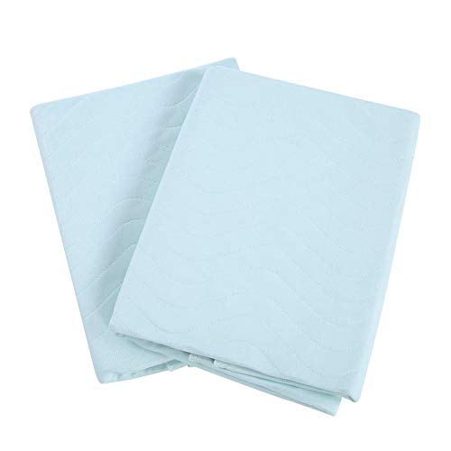 2Pcs Incontinence Bed Pad, Beds, Bedroom Aids &Absorbent Pads, Shields & GuardsWashable Reusable Underpad Waterproof Breathable Mattress Protector Absorbing Sheets Urine Elder Mat