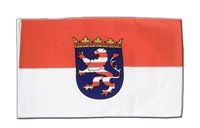 Deutschland Hessen Flagge, hessische Fahne 30 x 45 cm, MaxFlags®