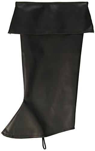 Forum Novelties Pirate Boot Covers for Adults - Black