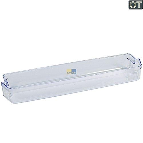 Bauknecht 480131100523 ORIGINAL Absteller Abstellfach Türfach Seitenfach transparent Kühlschrank Kühlschranktür auch für Centrales Ignis Ikea V-Zug Whirlpool 481941879332