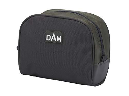 Dam Reel Pouch, Transporttasche zum Schutz hochwertiger Rollen, rundum gepolstert, Reißverschluss, Maße: 18x15x10cm, Material 100% Polyester