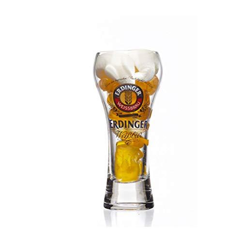 Schnapsglas mit Bierfruchtgummi Fruchtgummi mit Biergeschmack