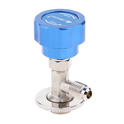Kältemittel Metall Flaschenöffner Dosierventil Tippen Öffnungsventil Werkzeug Kältespender Einhebelmischer - für R22 R600a