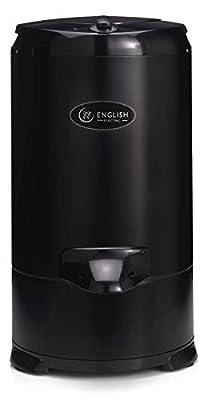English Electric Black Gravity Drain Spin Dryer 28009B1 5.2kg Capacity