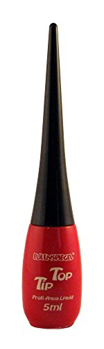 Eulenspiegel 675762 - Professional Liquid Aqua Schminke Tip Top - Flasche mit integriertem Pinsel -...