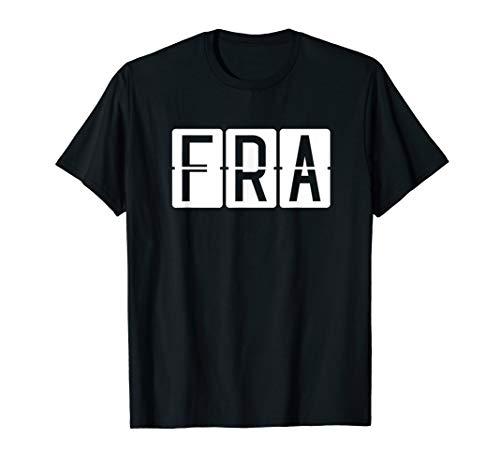 FRA Frankfurt Flughafen Code Airport & Reise T-Shirt