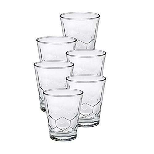 Duralex Hexagon - Vaso de cristal transparente (35 cl, 6 unidades)