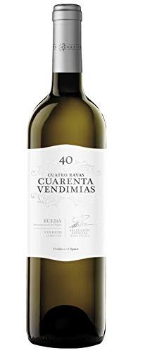 Vino Blanco Cuarenta Vendimias Verdejo D.O Rueda - 750 ml