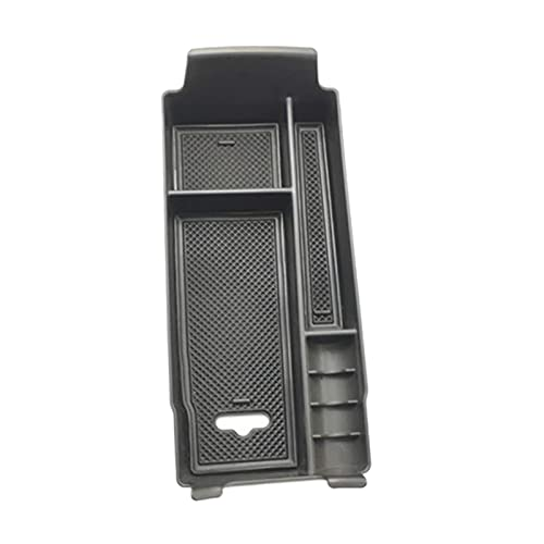 FangFang Caja de almacenamiento del apoyabrazos de la consola central apta para Mercedes Benz una clase W177 GLB Clase W247 (Color Name : Black)