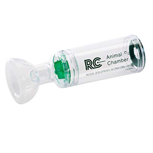 CEGLA RC-Animal Chamber Hund Inhalierhilfe mit Silikonmasken, ermöglicht die Inhalation von Medikamenten, Inhalator für Welpen & Hunde bei Atemwegserkrankungen wie Husten oder Bronchitis