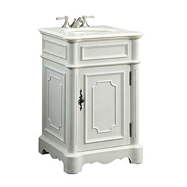 21  Powder Room Special - Teega Sm. Bathroom Sink Vanity - CF-3006W-AW