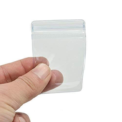 MOMA New Clear PVC Plastic Coin Bag Case Wallets Storage Envelopes New Packaging 70 x 50 mm 100Pcs NEW PRODUCT