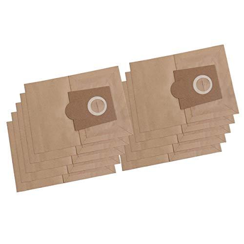 10x Staubsaugerbeutel/Saugertüte kompatibel mit Bosch Animeaux, BSA 000KA-999KA, BSA 2000-3999 Sphera, Org. Typ D, E, F, G, G XL, H - Papier
