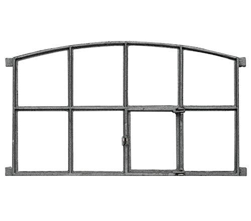 Fenster zum Öffnen Klappfenster Stallfenster Eisenfenster Eisen 74cm Antik-Stil
