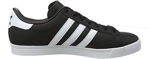 adidas Herren Coast Star Sneaker, Schwarz (Core Black/Footwear White/Core Black 0), 41 1/3 EU