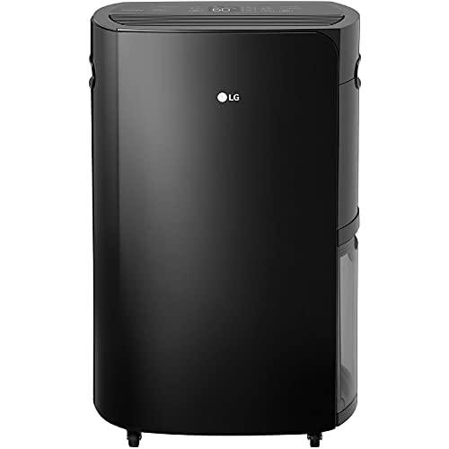 LG PuriCare 2019 50-Pint Black Energy Star Dehumidifier