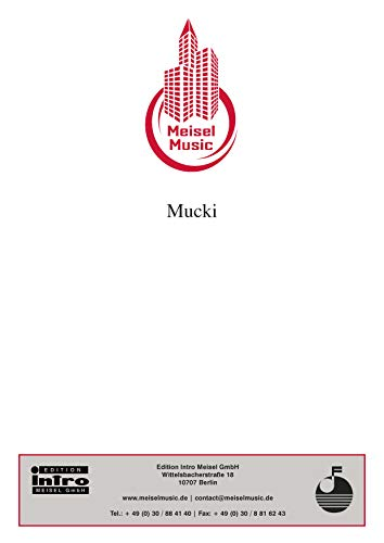 Mucki: Single Songbook (German Edition)