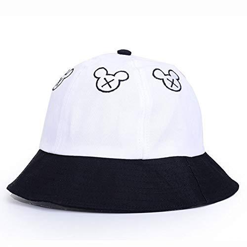 CGXBZA lente en zomer anti-uv visser hoed mannelijke en vrouwelijke hoed zonnebrandcrème zonnekap muts Mickey grote hoed