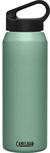 Camelbak - Botellas con aislamiento al vacío, color verde oscuro, tamaño 1 L, 10.92 x 3.32 x 3.32inches