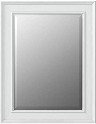MCS 15.5x21.5 Inch Wall Mirror, 21.5x27.5 Inch Overall Size, White (20450)