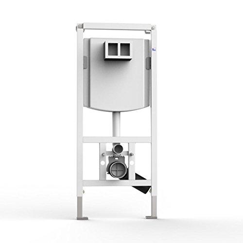 WC-Element VIS f.Trockenbau m.UP-Spülkasten 7.5l BH:1185mm