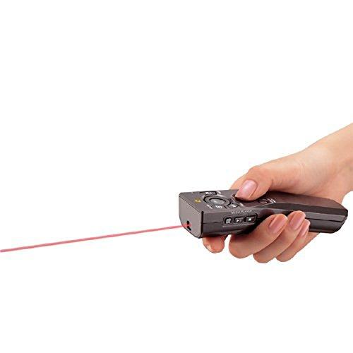 コクヨ赤色レーザーポインター持ちやすいELA-MRU41