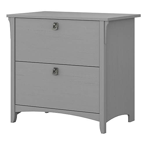 Bush Furniture Salinas Lateral File Cabinet in Cape Cod Gray
