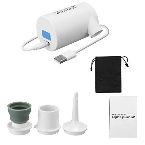 Guangcailun Bomba de Aire eléctrica USB portátil para Juguetes inflables CAS de Aire de la Bomba CPIng colchón de Aire